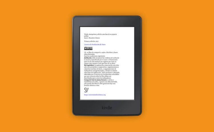 Anarquismo y edición PDF